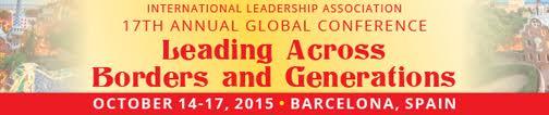 Leading Across borders ad banner