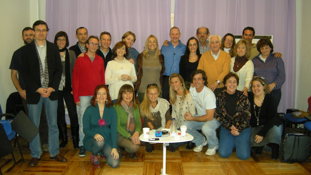 Colin and the Group in Spain