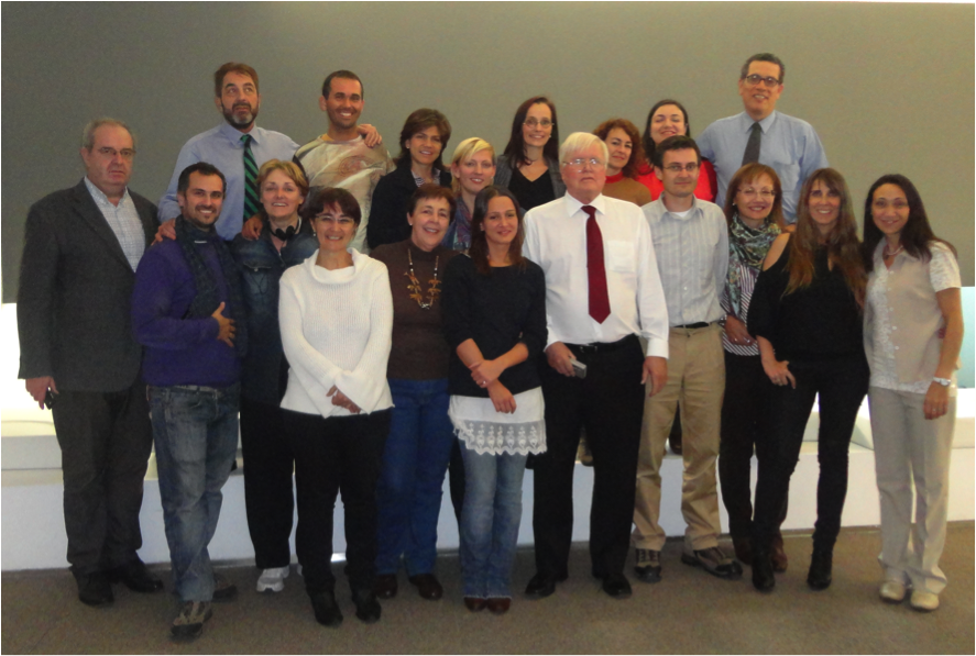 Picture 5: Dr. Beck and the new SDi constellation members in Spain