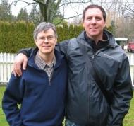David MacLeod and Tim Winton