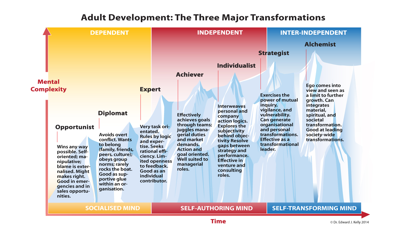 Figure 2. Action-logic stages of adult development