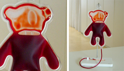 Teddy Bear Blood Bag