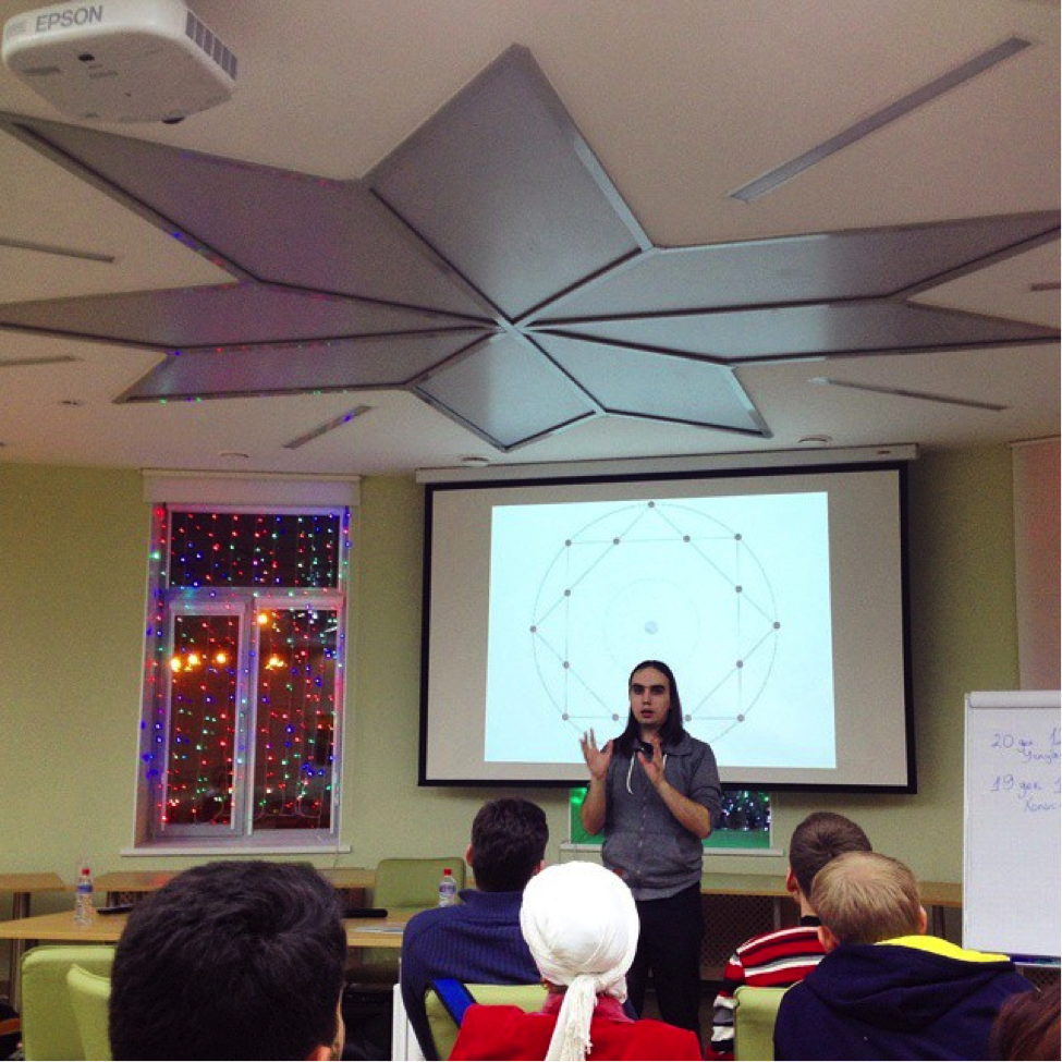 Last Thursday in Izhevsk: I give a short workshop on Integral Framework and Holoscendence for the Association of City Development (ARGO) and its partners, friends, staff as well as izhevskian entrepreneurs, social activists and citizens. ARGO applies Ken Wilber's Integral framework and Marilyn Hamilton's Integral City approach towards its projects, uniting the resultant long-term strategic vision with its own unique competencies and pragmatic strengths.