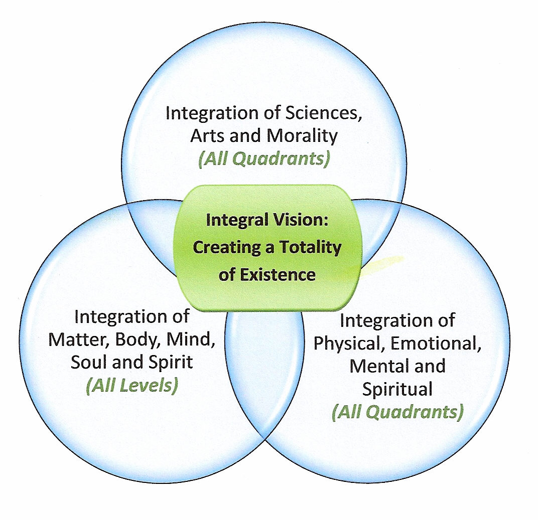 Figure 5: Wilber's Integral Vision for Living Totality