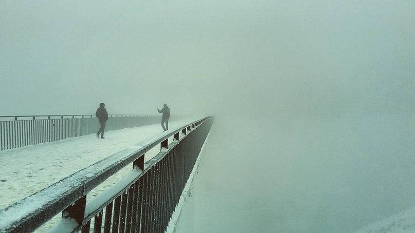 A bridge in Nizhny Novgorod