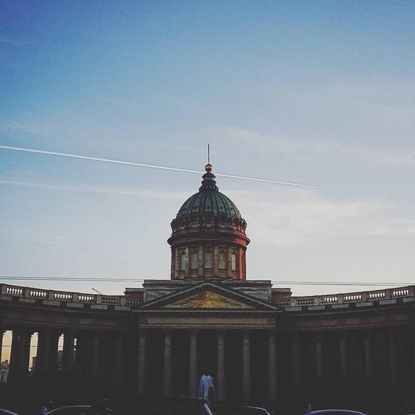 Kazansky Cathedral in St. Petersburg