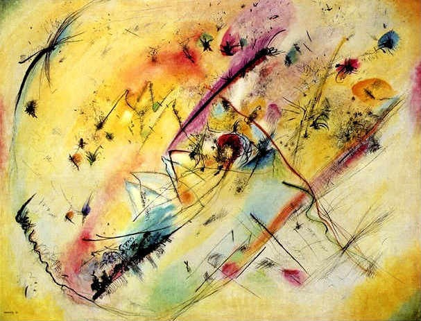 "Vasily Kandinsky ""Bright Picture"" (1913)[27]"