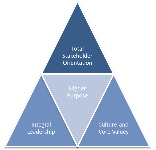 Figure 1: The four tenets of 3D-Management