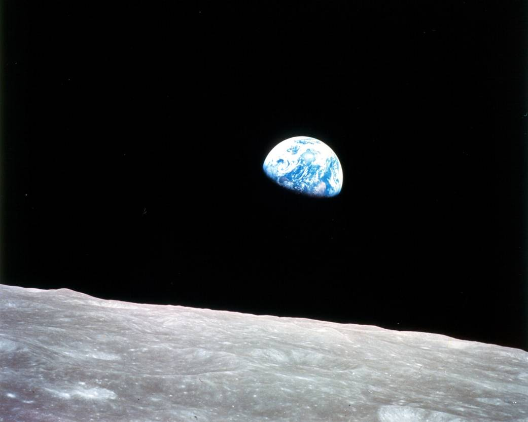 Nasa earthrise apollo 8 1968