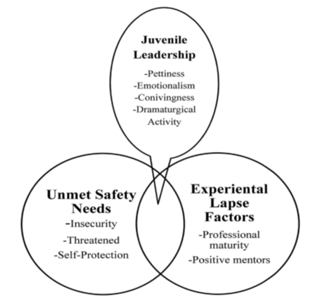 Figure 3: Theoretical Model of Juvenile Leadership