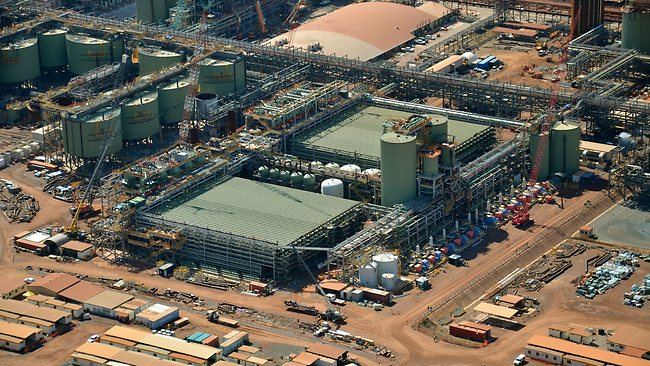 Rio Tinto Alcan Refinery Expansion, Gladstone, Australia, http://www.couriermail.com.au
